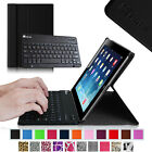 Apple iPad 2/3/4 with Retina Display Leather  Bluetooth Keyboard Case Cover