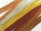 Finely Coiled French Wire/gimp/bullion/guardian - Jewellery Making - 4 Colours