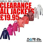 Dare2b Girls Waterproof Breathable Ski Jackets