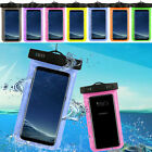 Swimming Waterproof Bag Case Transparent Cover For Samsung Galaxy S8 / S8 Plus