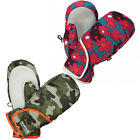 Regatta Spatter Boys Girls Waterproof Windproof Lined Padded Warm Winter Mitts