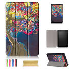 For Amazon Kindle Fire HD 8 (7th Gen) 2017 Release Flip Leather Stand Case Cover
