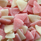 NEW HARIBO JELLY GRAPEFRUITS PINK AND WHITE SLICES WEDDING RETRO PARTIE BAGS