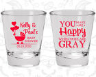 Baby Shower Shot Glasses Glass Favors (90010) Coed, Couple