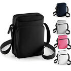 Unisex Sized To Fit iPad mini/ Tablets Adjustable Webbing Strap Zip Bag One Size