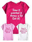 Girls Slogan T Shirt New Kids Cotton Top New Kids Short Sleeved Tee 2 - 8 Years