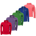 Regatta Hot Shot Boys Girls Lightweight Half Zip Anti Pill Fleece Jacket Multi