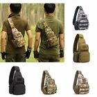 Men's Tactical Sling Chest Bag Casual Travel Backpack Messenger Bag Shoulder Bag