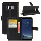 Luxury Leather Wallet Card Stand Case Shockproof Cover For Samsung Galaxy Phones