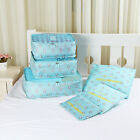New 6Pcs Clothes Storage Bags Travel Luggage Packing Cube Organizer Pouch