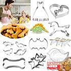 Stainless Steel Biscuit Cookie Fondant Mould Cake baking metal cookie cutter set