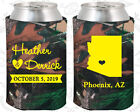 True Life Camouflage Wedding Koozies Favors Gift Ideas Decorations Gifts (102)