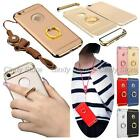 For Huawei Honor 5X Play Mate 7 Strap Plating Armor Ring Holder Hard Case Cover