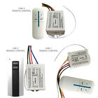 Wireless Remote Control 1/2/3/ Channel ON/OFF Lamp Switch Receiver Transmitter