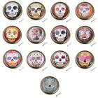 Vintage Skull Round Cabinet Knob Kitchen Drawer Wardrobe Closet Door Pull Handle