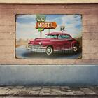 Motorcycle Car METAL TIN SIGNS vintage cafe pub bar garage decor retro kitchen
