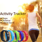 Fitbit Style Activity Tracker Kid Pedometer Counter Fitness Watch Wristband