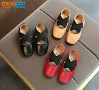 New Lovely Toddler Girls Dancing Shoes Kids Princess Flats Party Shoes Size 8-11