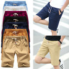 Summer Mens Casual Sports Cotton Pants Shorts Trousers Military Army Cargo Pants