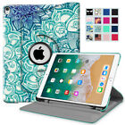 "For Apple iPad Pro 10.5 Case 2017 Release 10.5"" 360 Degree Rotating Stand Cover"