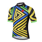 Triangle Men Pro Bicycle Bike Half Sleeve Cycling Jersey Clothing Shirt S-3XL