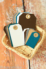 AUTUMN Colours Luggage TAGS 20pc wishing tree wedding place card apron Gift Tags