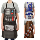 Adults Official Star Wars Darth Vader R2D2 Or Chewbacca Cotton Kitchen Apron