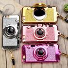 Pretty 3D Camera Soft Protector Phone Case Cover for Apple iPhone 6 6s 7 7Plus