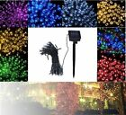 50-200 LED Solar Powered Garden Party Xmas String Fairy Lights Indoor Outdoor