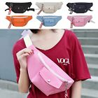 Unisex Simple Casual Fabric Waist Pack Fanny Hip Sack Shoulder Chest Sling Bag
