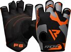 RDX Weight Lifting Gloves Body Building Wrist Fitness Strap Gym Glove Training