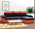 Corner Sofa Bed MORI Sleep Function Bedding Container Bonell Spring New