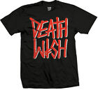 DEATHWISH SKATEBOARDS DEATHSTACK RED BLACK T-SHIRT S M NEW - SKATE BAKER
