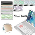 """iPad Pro 9.7"""" 2016/ iPad Air 2 7 Colors Backlit Bluetooth Keyboard Case Cover"""
