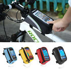 Classic Cycling Bicycle Bike Frame Pannier Front Tube Bag Case For All iPhone