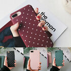 Ultra Thin Shockproof Polka Dot Dull Poli Case Cover Skin for iPhone 6 6s 7 Plus