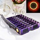 (100 Pack) Solar Eclipse Glasses 2017 Galaxy Edition CE and ISO Standard Viewing