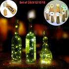 3 x 30inch Cork Shaped LED Night Light Starry Light Wine Bot