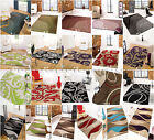 CLEARANCE - MODERN TRENDY QUALITY COLOURFUL SOFT DENSE PILE RUGS MATS