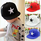 Toddler Kids Boys Girls Baseball Cap Adjustable Snapback Hip hop Outdoor Sun Hat