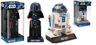 Funko Star Wars Car Bobble Head Darth Vader R2-D2 Collectable Movie Memorabilia $27.0 CAD