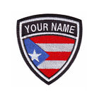 PUERTO RICO CUSTOM CREST EMBROIDERED PATCH