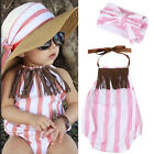 Infant Newborn Baby Girl Tassel Backless Romper Playsuit Sunsuit Outfit Clothes