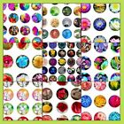 Precut assorted FLOWERS FLORAL DESIGNS BOUQUETS BOTTLE CAP IMAGES Variety 1 inch