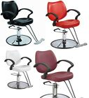 Black Red White Burgundy Classic Hydraulic Barber Chair Styling Salon Beauty NEW