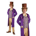 Rubies Mens Official Licensed Willy Wonka Costume New Chocolate Factory Outfit