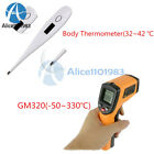 GM320 LCD IR Infrared Laser Temperature Thermometer Gun/Bady Non-Contact