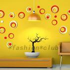 Removable Circles Rings Wall Decal Sticker Home Decor Kids Room Vinyl Art