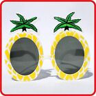 TROPICAL HAWAIIAN  PINEAPPLE COCKTAIL GLASSES SUNGLASSES - FUNNY COSTUME -PARTY