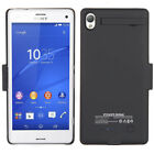 3200mAh External Battery Backup Charger Case Cover Power Pack For Sony Xperia Z3